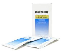 фортранс для подготовки к эндоскопии